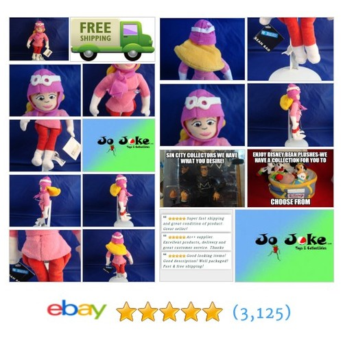 WARNER BROS STUDIO STORE PENELOPE PITSTOP BEAN PLUSH-10 IN-WACKY RACERS-NEW/TAGS | eBay #WARNERBROSSTUDIOSTORE #etsy #PromoteEbay #PictureVideo @SharePicVideo