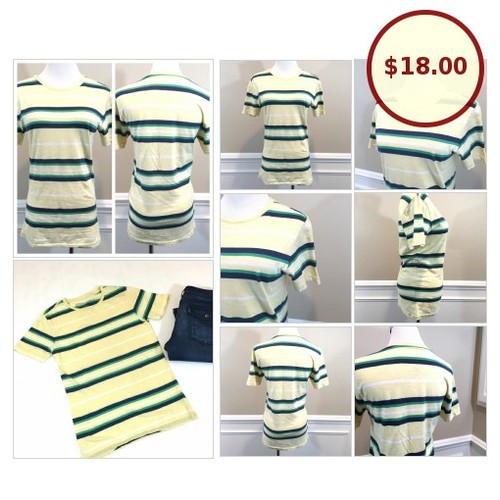 Aeropostle Striped Yellow Tee (XS) @the_cc_boutique https://www.SharePicVideo.com/?ref=PostPicVideoToTwitter-the_cc_boutique #socialselling #PromoteStore #PictureVideo @SharePicVideo
