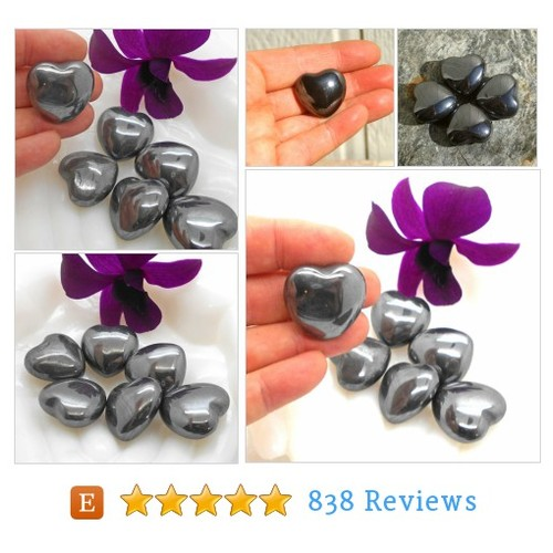 Hematite Stone Heart for Meditation and #etsy @owensacres  #etsy #PromoteEtsy #PictureVideo @SharePicVideo