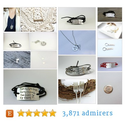 custom hand stamped jewelry by @BStamped  Etsy shop  #etsy #PromoteEtsy #PictureVideo @SharePicVideo