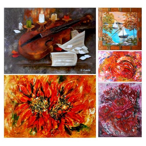 Exclusive Oil Paintings of Natalya Zhdanova by Etsy:  #etsy #PromoteEtsy #PictureVideo @SharePicVideo