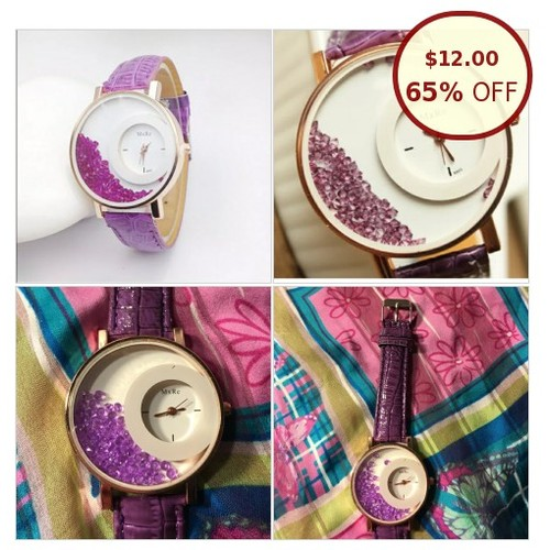 NEW❗️Large Purple Watch W/ Purple Rock @missrochelles https://www.SharePicVideo.com/?ref=PostPicVideoToTwitter-missrochelles #socialselling #PromoteStore #PictureVideo @SharePicVideo