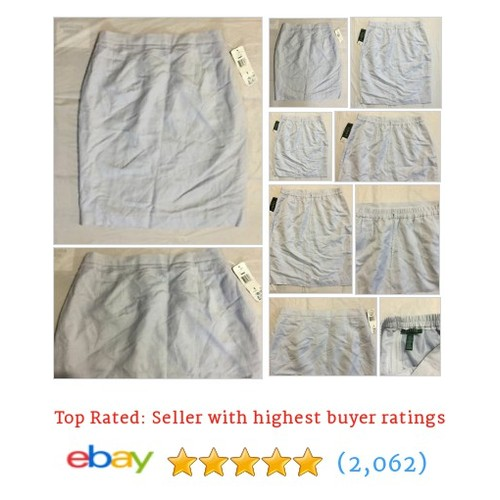 "Lauren Ralph Lauren Women's Silk Pull-On Skirt Size S 31"" W #ebay @usinterprise  #etsy #PromoteEbay #PictureVideo @SharePicVideo"