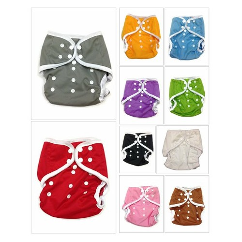 # Leak#free #Snaps #Cloth #Diaper #Cover for Prefolds (One Size, Gray): Clothing #socialselling #PromoteStore #PictureVideo @SharePicVideo