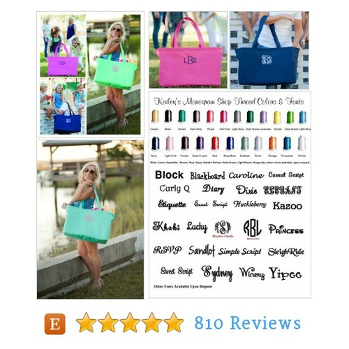Monogram Beach Tote - Various Colors - #etsy @kaileysmonogram  #etsy #PromoteEtsy #PictureVideo @SharePicVideo