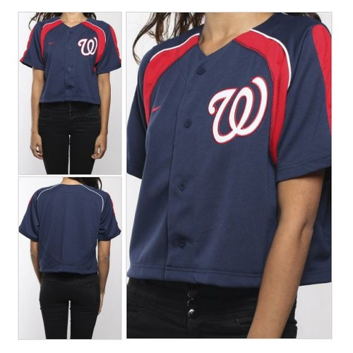 Vintage Washington Nationals Crop Jersey @shopfrankie #shopify  #shopify #PromoteStore #PictureVideo @SharePicVideo