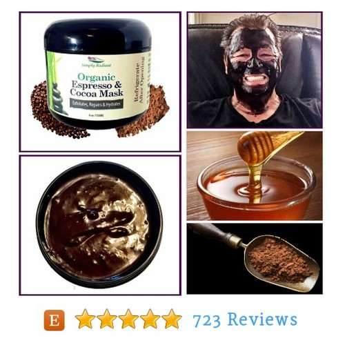 Organic Espresso Cocoa Face Mask #etsy @sreaganhenry  #etsy #PromoteEtsy #PictureVideo @SharePicVideo
