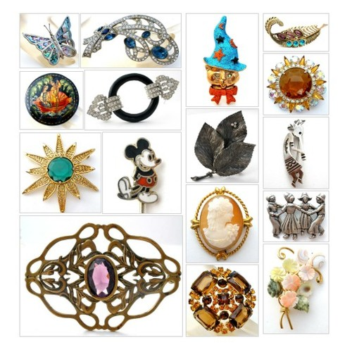 Brooches & Pins @JewelryLadyChic https://SharePicVideo.com?ref=PostVideoToTwitter-JewelryLadyChic #socialselling #PromoteStore #PictureVideo @SharePicVideo