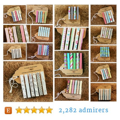 Clothespins - Standard #etsy shop #clothespinsstandard @makingthenest  #etsy #PromoteEtsy #PictureVideo @SharePicVideo