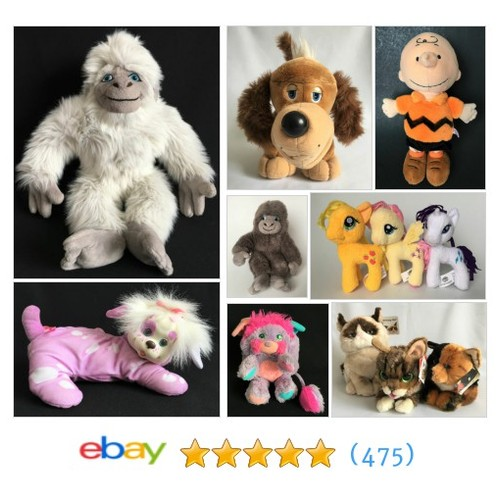 Plush Toys Items in Surefyre Sales store #ebay @surefyre_sales  #ebay #PromoteEbay #PictureVideo @SharePicVideo