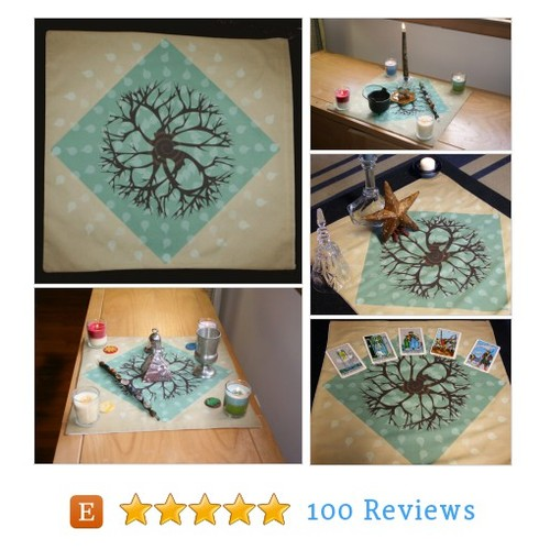 Altar Cloth - Baretree Altar Cloth or Tarot #etsy #PromoteEtsy #PictureVideo @SharePicVideo