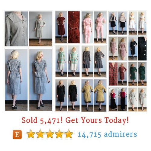 Vintage Suiting Etsy shop #vintagesuiting #etsy @dethrosevintage  #etsy #PromoteEtsy #PictureVideo @SharePicVideo