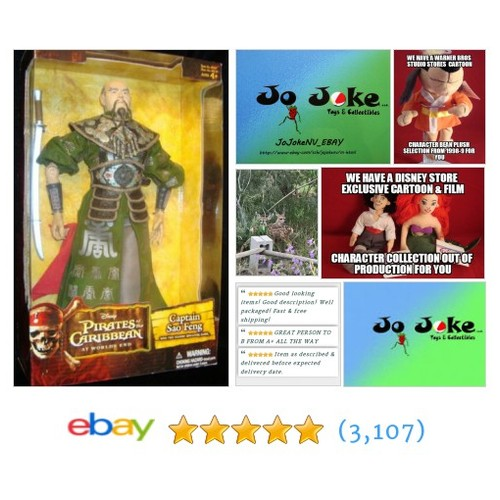"CAPTAIN SAO FENG-12""-PIRATES-AT THE WORLD'S END-SWORD~SUPERB COSTUME DESIGN~NEW! 