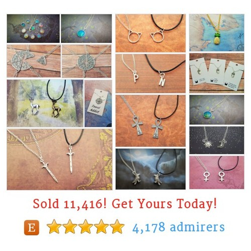 Necklaces Etsy shop #etsy @fairyfountaings  #etsy #PromoteEtsy #PictureVideo @SharePicVideo