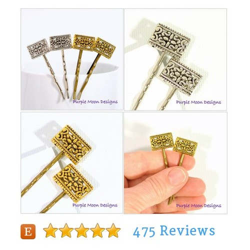 Bobby Pin Gold or Silver, Victorian Hair #etsy @purplemoondsgn  #etsy #PromoteEtsy #PictureVideo @SharePicVideo