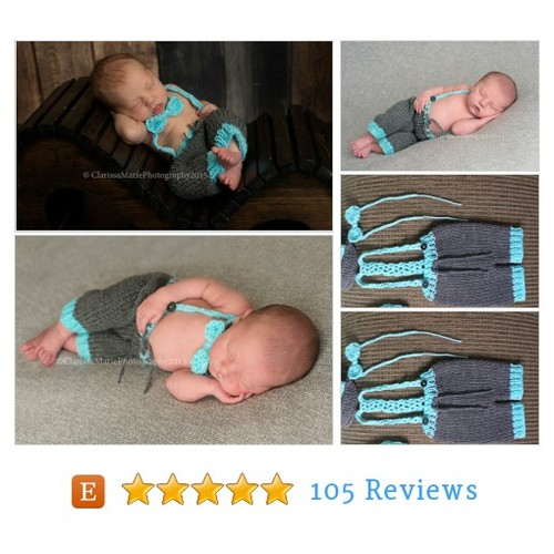Baby Boy Knit Outfit, Baby Suspender #etsy @handmadetrend https://www.SharePicVideo.com/?ref=PostPicVideoToTwitter-handmadetrend #etsy #PromoteEtsy #PictureVideo @SharePicVideo