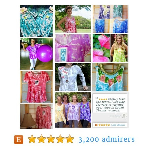 Hand Painted Clothes from Petrina Kaua'i Hawaii #etsyartist #etsyfinds #TInegrityT @MDFDRetweets @NightRTs @DNR_Crew #etsy #PromoteEtsy #PictureVideo @SharePicVideo