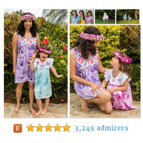 Perfect for Mother's Day! Matching dresses from Hawaii #epiconetsy #etsyfashionhunter #etsymntt @DNR_CREW @FAMERTs #etsy #PromoteEtsy #PictureVideo @SharePicVideo