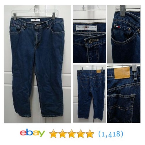 Tommy Hilfiger Blue Jeans Sz 10 Cotton 5 Pocket Nice @beesbaymarket #sellonebay #ebay  #etsy #PromoteEbay #PictureVideo @SharePicVideo