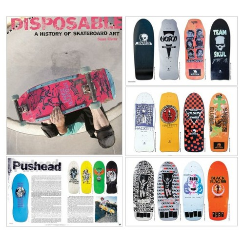 Disposable: A History of Skateboard Art (paperback) @thebigolnasty  #shopify #PromoteStore #PictureVideo @SharePicVideo