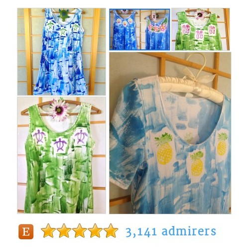 Hawaiian Hand painted dress #epiconetsy #etsymntt #integritytt @HyperRTs @MDFDRetweets @NightRTs @EtsySocial  #etsy #PromoteEtsy #PictureVideo @SharePicVideo