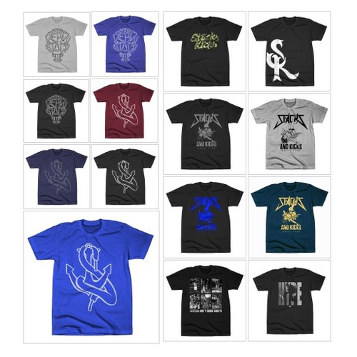 T-Shirt Collection @stacksandkicks  #shopify #PromoteStore #PictureVideo @SharePicVideo
