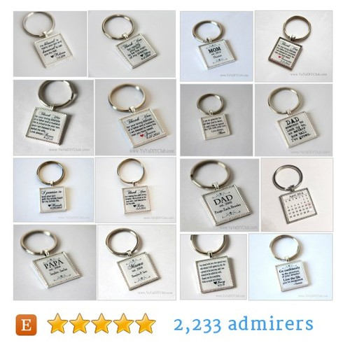 Custom Keychains #etsy shop #customkeychain @yayadiyclub  #etsy #PromoteEtsy #PictureVideo @SharePicVideo