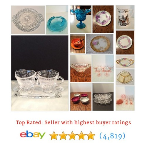 China and Glassware Great deals from Sandy's Collectibles and More #ebay @sandysebaystore  #ebay #PromoteEbay #PictureVideo @SharePicVideo