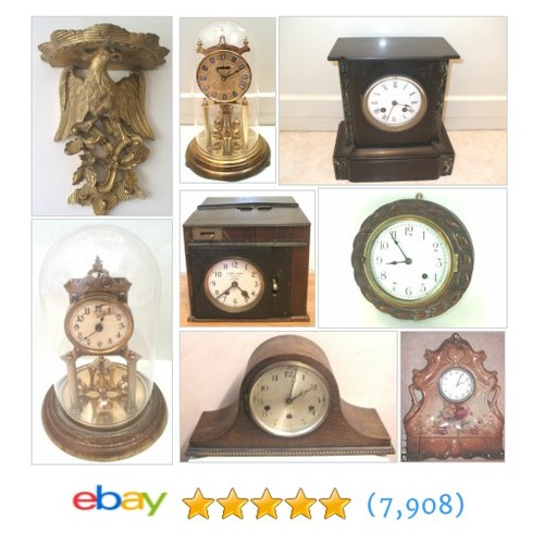 antique clocks Items in Barbican Antiques Shop shop . #ebay @greateros  #ebay #PromoteEbay #PictureVideo @SharePicVideo