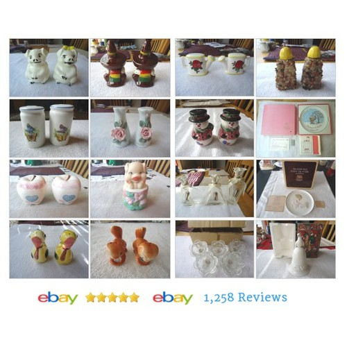 Always Free Shipping At Foster Web Store ! #SaltAndPepperShakers #Ceramics #ebay #PromoteEbay #PictureVideo @SharePicVideo
