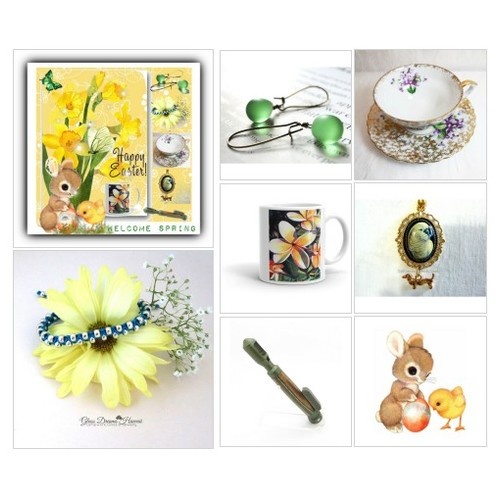 #March #SpecialT #HappySpring #flowers #etsyjewelry #polyvoreeditorial  #artset #eastergifts #EtsyShops #animals #butterflies #comments #crazy4etsy #contestentry @etsyRT @SemiMong @XLRTS  #socialselling #PromoteStore #PictureVideo @SharePicVideo
