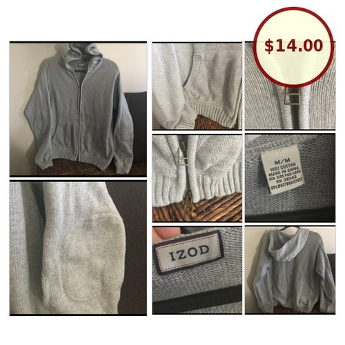 Ⓜ️Men's Thick IZOD Sweater Hoodie @tfaultersack https://www.SharePicVideo.com/?ref=PostPicVideoToTwitter-tfaultersack #socialselling #PromoteStore #PictureVideo @SharePicVideo