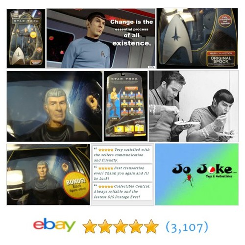 STAR TREK-ORIGINAL SPOCK-STAND-XTRA HAND-POSEABLE-NEW~! EXCELLENT RENDERING~!~ | eBay #Playmate #etsy #PromoteEbay #PictureVideo @SharePicVideo