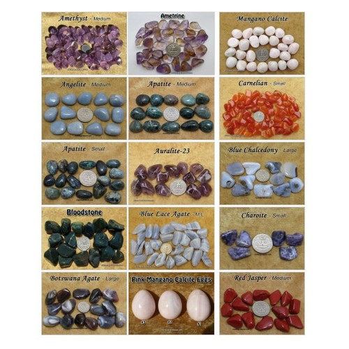 Tumbled Stones @CrystalGuidance #shopify  #shopify #PromoteStore #PictureVideo @SharePicVideo