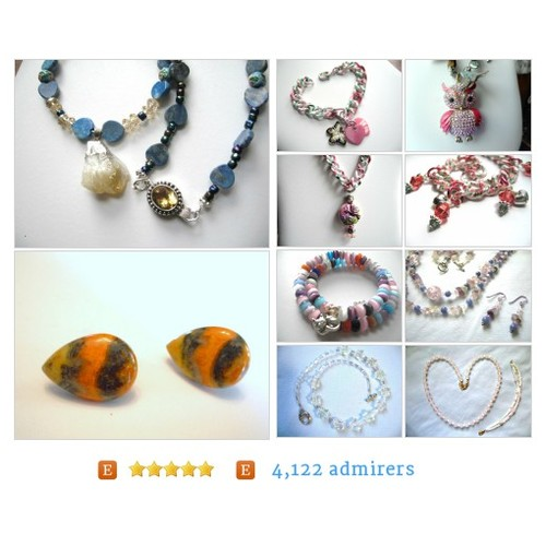 #All from Jewelry by Donna by ageratum Etsy shop  #etsy #PromoteEtsy #PictureVideo @SharePicVideo