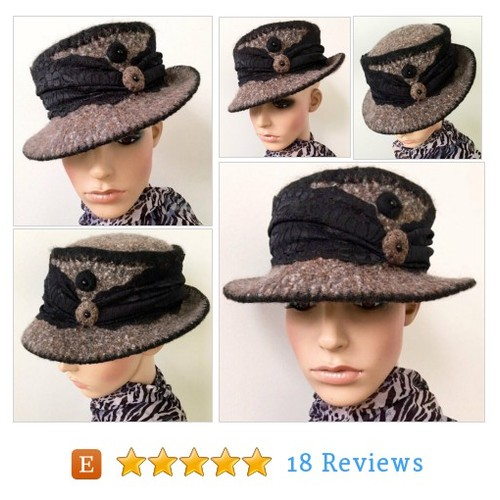 1920s Cloche Hat Wool Cloche Hat Art Deco #etsy @krystalajoy https://www.SharePicVideo.com/?ref=PostPicVideoToTwitter-krystalajoy #etsy #PromoteEtsy #PictureVideo @SharePicVideo