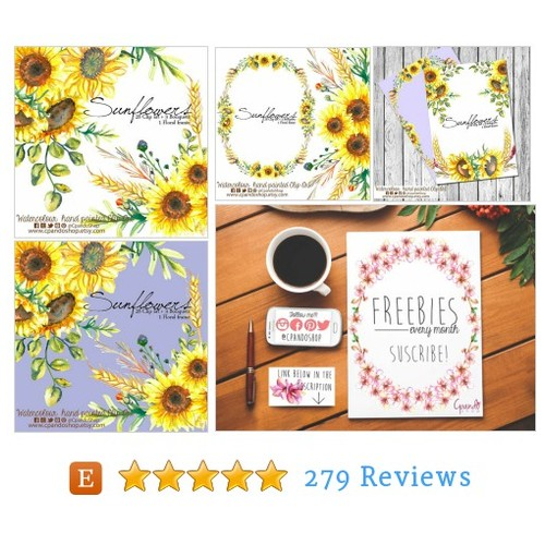 Watercolor clipart, Frames Floral PNG, #etsy @cpandoshop https://www.SharePicVideo.com/?ref=PostPicVideoToTwitter-cpandoshop #etsy #PromoteEtsy #PictureVideo @SharePicVideo
