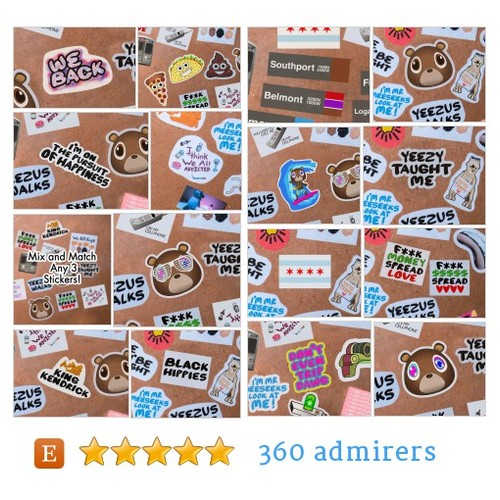 Stickers #etsy shop #sticker @1410prints  #etsy #PromoteEtsy #PictureVideo @SharePicVideo