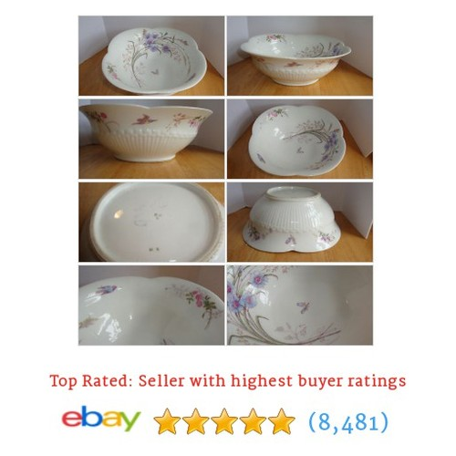 ANTIQUE LIMOGES PORCELAIN BOWL MARKED DEPOSE M R AND B D L BIG #ebay @dukethedrummer  #etsy #PromoteEbay #PictureVideo @SharePicVideo