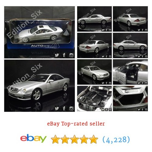 AutoArt 1:18 Mercedes Benz CL55 AMG F1 Limited edition Rare German #ebay @edition_six https://www.SharePicVideo.com/?ref=PostPicVideoToTwitter-edition_six #etsy #PromoteEbay #PictureVideo @SharePicVideo