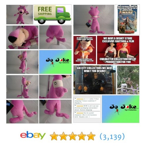 WARNER BROS STUDIO STORE--SNAGGLEPUSS-8 INCHES-BEAN PLUSH-COOL KAT-NEW/TAGS-1998 | eBay #WARNERBROSSTUDIOSTORE #etsy #PromoteEbay #PictureVideo @SharePicVideo