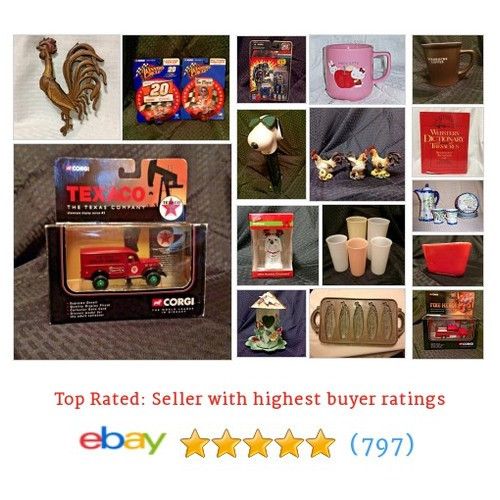 Collectibles Great deals from WhatnotsNDoodads #ebay @jerseybabes  #ebay #PromoteEbay #PictureVideo @SharePicVideo