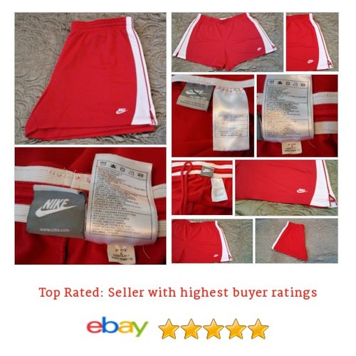 #Nike Women's Shorts Size XL Running Fitness Red White Jogging Athletic Yoga | eBay #Short #WomensClothing #etsy #PromoteEbay #PictureVideo @SharePicVideo