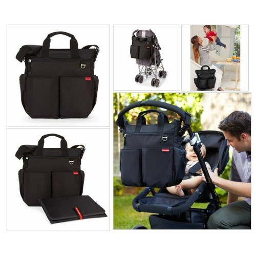 #Skip #Hop# Duo# Signature #Diaper #Bag, Black - Every Thing Baby #socialselling #PromoteStore #PictureVideo @SharePicVideo