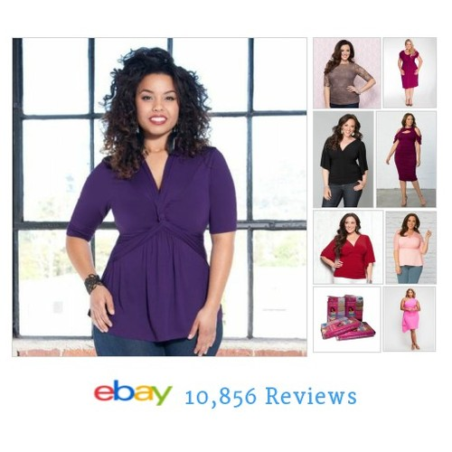 #PlusSize Women's Clothing never looked so good. Our NYC#boutique ships as fast you shop! #ebay #PromoteEbay #PictureVideo @SharePicVideo