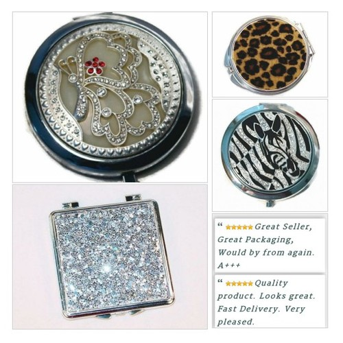 Need a new Compact? We have a variety of them at Shar's Boutique! #Beauty #CompactMirror #ebay #PromoteEbay #PictureVideo @SharePicVideo