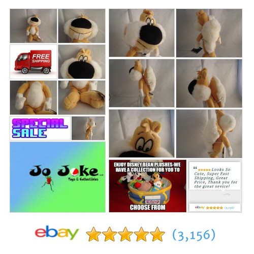 WARNER BROS STUDIO STORE-SCREWBALL SQUIRREL BEAN PLUSH-9 IN-RARE-COOL-NEW/TAGS | eBay #WARNERBROSSTUDIOSTORE #etsy #PromoteEbay #PictureVideo @SharePicVideo