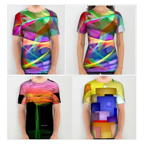 Abstract 9488 All Over Print T-Shirts #shopify @rafael_salazars  #shopify #PromoteStore #PictureVideo @SharePicVideo
