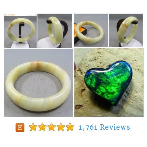 SALE Genuine Chinese Fine Yellow Jade #etsy #PromoteEtsy #PictureVideo @SharePicVideo