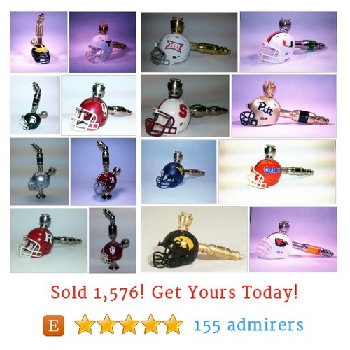 NCAA Helmet Pipes Etsy shop #etsy @dcsportpipes  #etsy #PromoteEtsy #PictureVideo @SharePicVideo